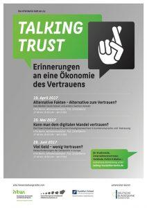 "Plakat ""Talking Trust"""